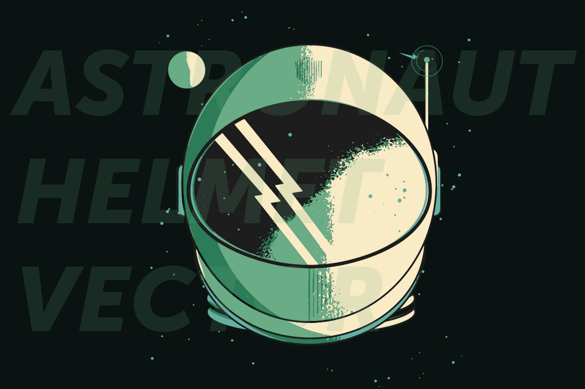 Astronaut Helmet Illustrations On Creative Market