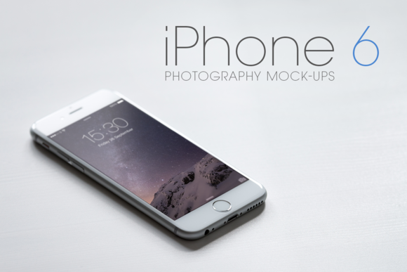 iPhone 6 Photography Mock-Ups - Product Mockups - 1