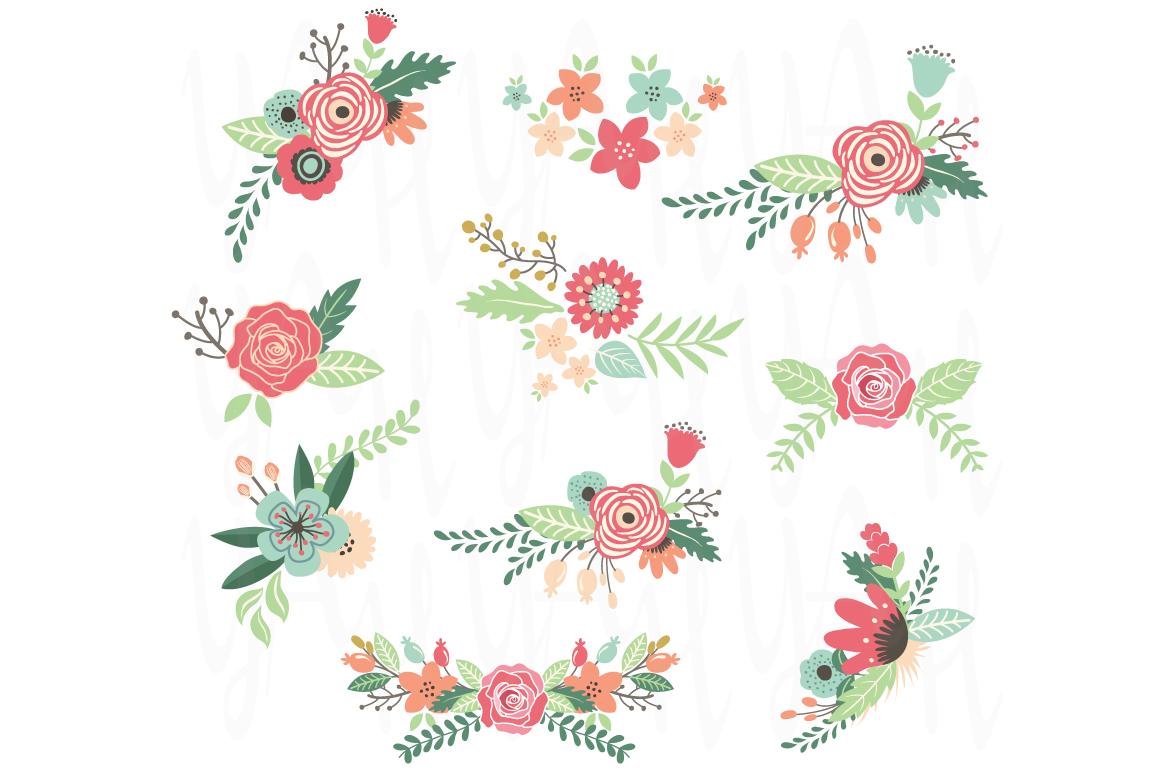 Vintage Flower Frame Illustrations On Creative Market