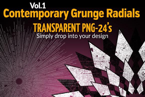 Contemporary Grunge Radials Vol.1 - Textures