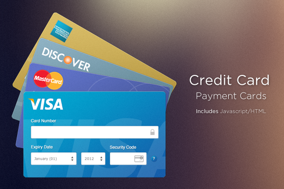 Beautiful Credit Card Inputs