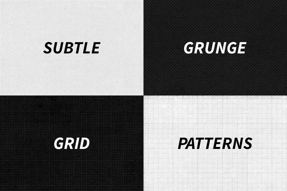 Subtle Grunge Grid Patterns