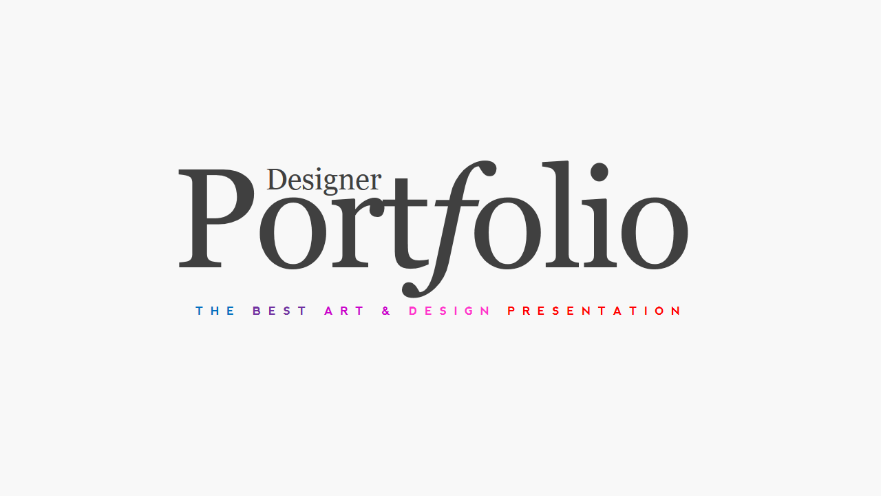 Portfolio Magazine PowerPoint ~ Presentation Templates on