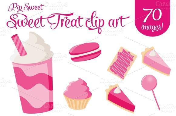 Sweet Treats Clip Art