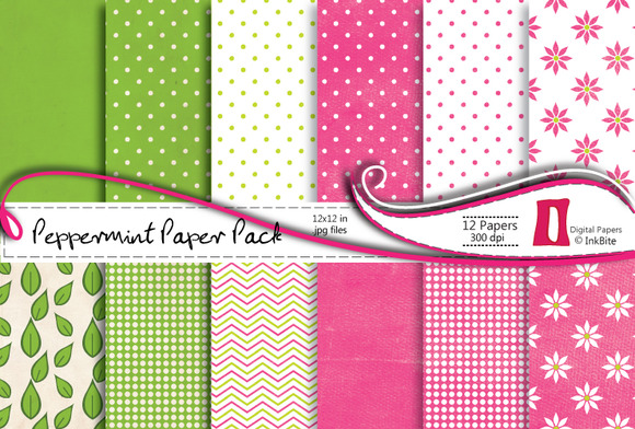 Peppermint Paper Pack
