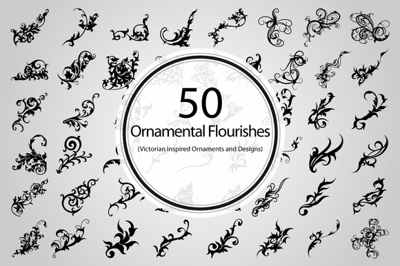 50 Ornamental Flourishes