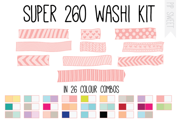 Super Washi Kit