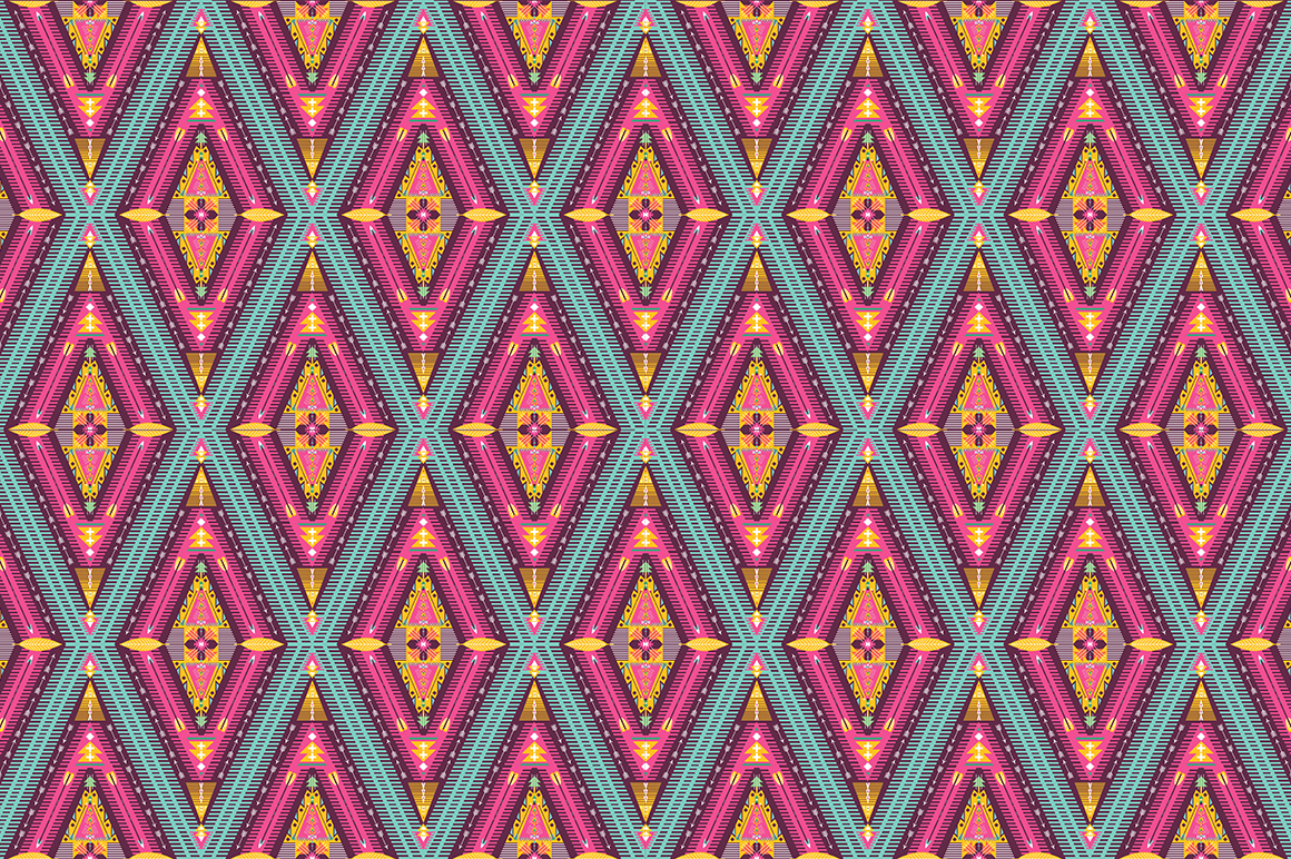 Hipster seamless tribal pattern ~ Patterns on Creative Market