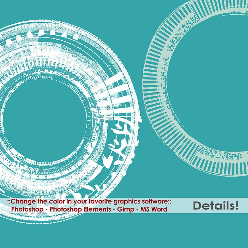 Circle Frame Png Grunge Circle Frame Details3 o