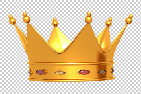 Crown 3d Render Png Graphics On Creative Market
