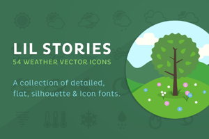 Lil Stories - Weather Icons