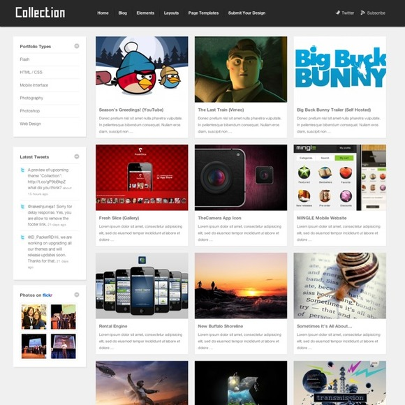Collection WordPress Theme