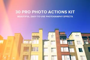 30 Pro Photo Actions Kit