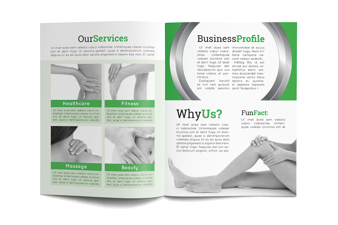 free mental health brochure templates - healthcare multipurpose brochure brochure templates on