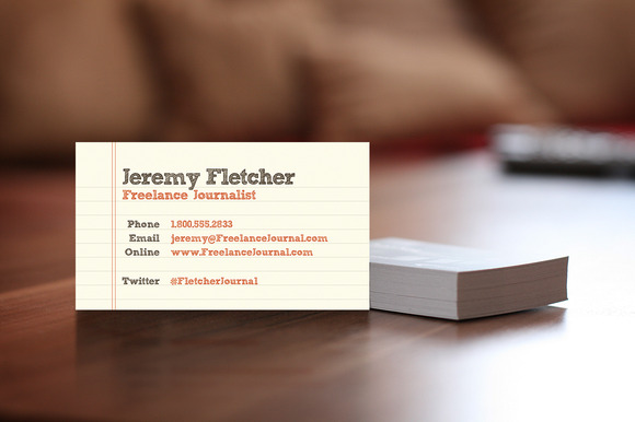 Paper Business Card Business Card Templates on Creative