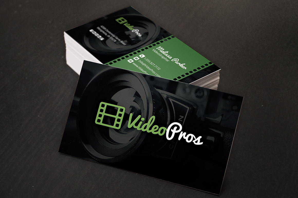 videography business cards