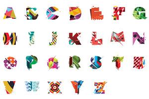 Colourful Type Set   Folkore
