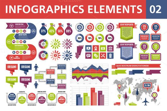 Best Powerpoint Infographics Pack Creative Market Mandegarfo