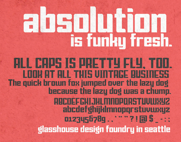 ABSOLUTION Bold