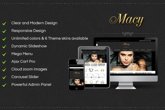 SM Macy – Responsive Magento Theme ~ Themes  Free Download
