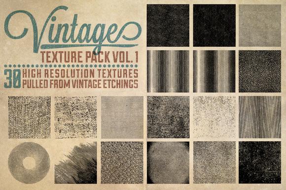 Vintage Texture Pack Vol 1