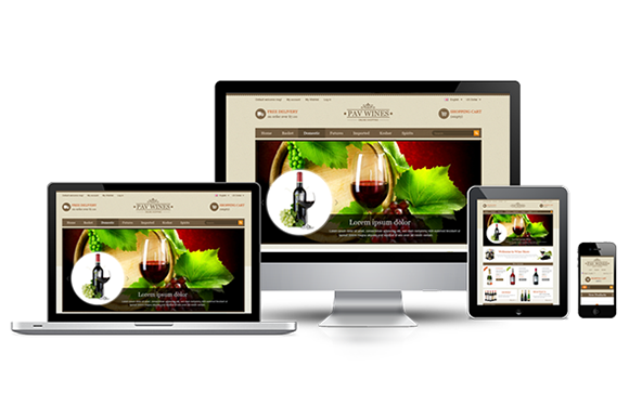 Pav Wine Responsive Opencart Theme ~ Bootstrap Themes  Free Download