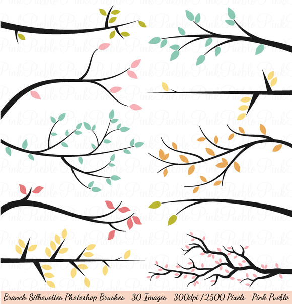 Branch Silhouette Photoshop