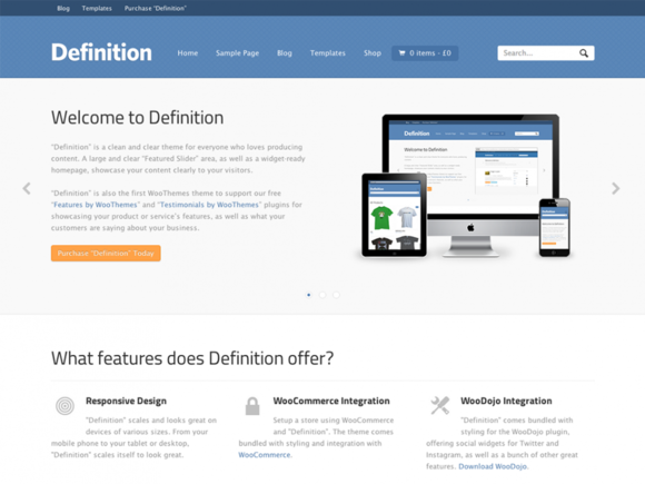 Definition ~ WordPress Themes  Free Download