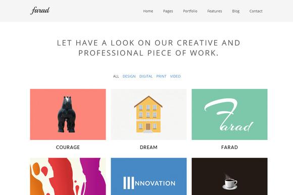 Farad WordPress Theme ~ WordPress Themes  Free Download