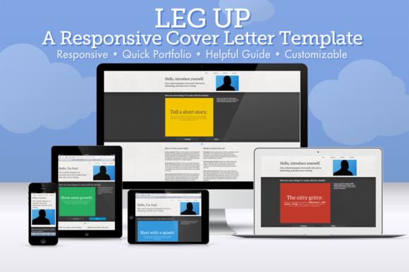 Leg Up: Cover Letter Template ~ Website Templates  Free Download