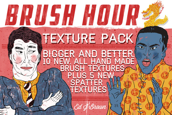 BRUSH HOUR 2 Texture Pack