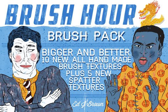 BRUSH HOUR 2 Brush Pack
