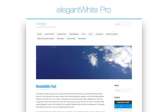 elegantWhite Pro WordPress Theme ~ WordPress Themes  Free Download