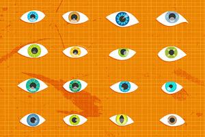 16 Vector Eye Shapes