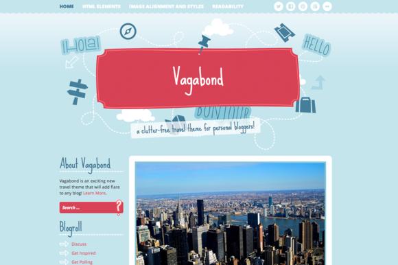Vagabond ~ WordPress Themes  Free Download