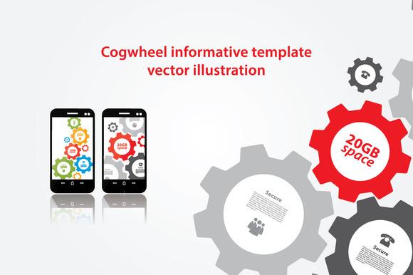 Vector Cogwheel Presentation Pack
