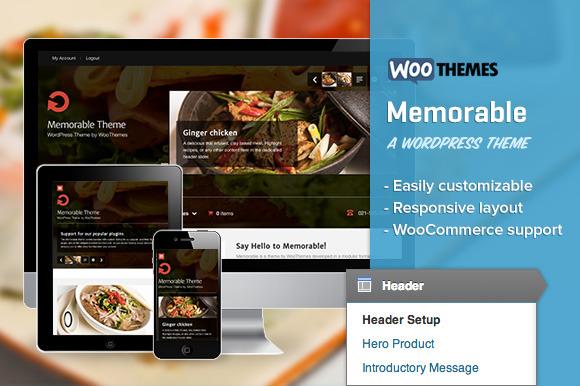 Memorable ~ WordPress Themes  Free Download