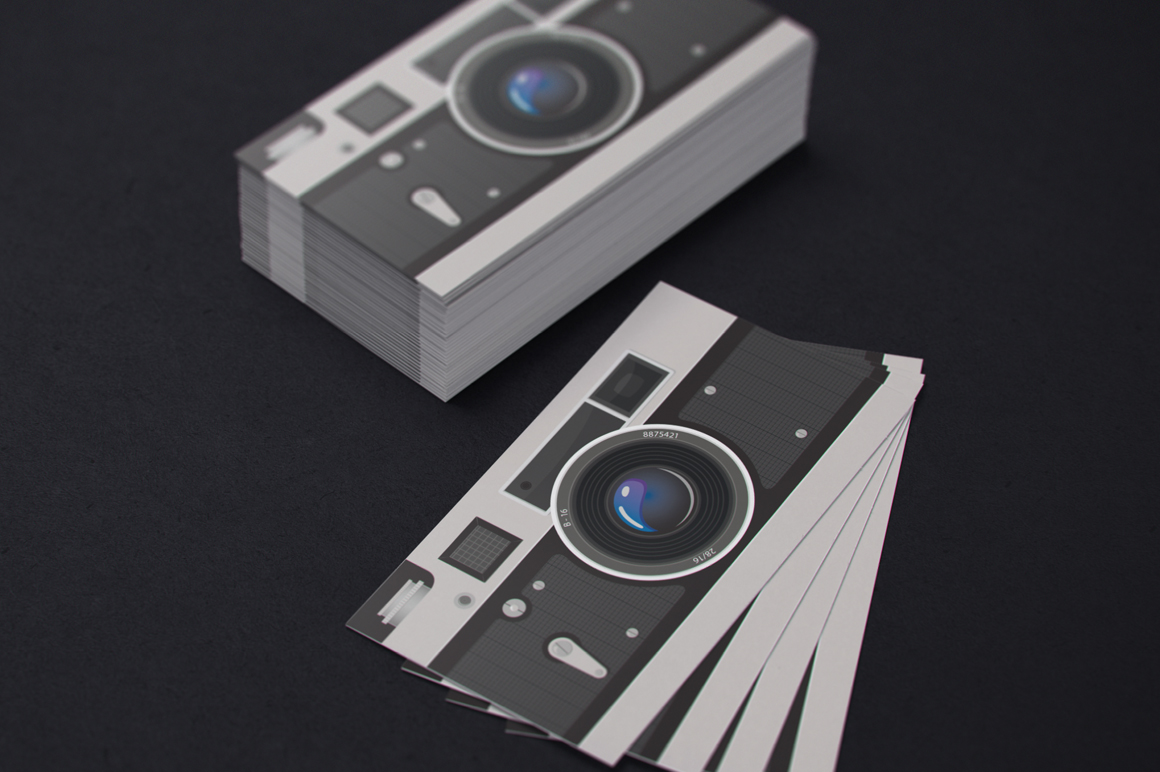 Photographer Business Card ~ Business Card Templates on Creative ...
