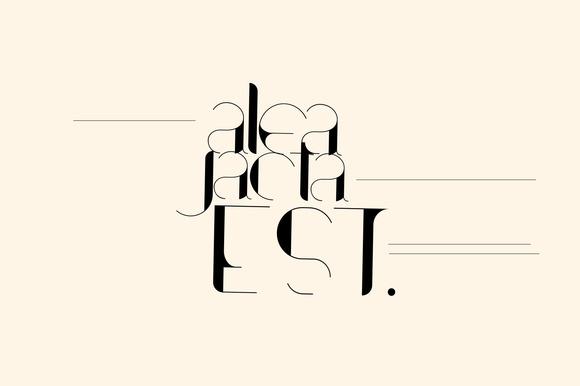 免费字体 Contrasto丨反斗限免