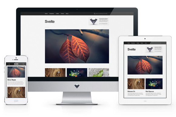 Svelte – Handcrafted Minimalism ~ WordPress Themes  Free Download