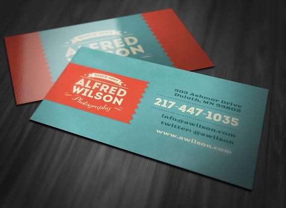 Retro Business Card 2