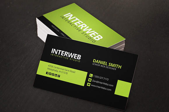 Web Designer Business Card   Business Card Templates on Creative 9qh8cSfK