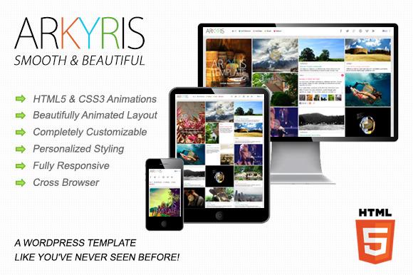Arkyris | Single Page Multi-Purpose ~ WordPress Themes  Free Download