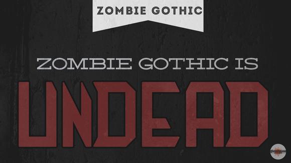 Zombie Gothic FS 50% OFF SALE