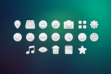 White icons pack