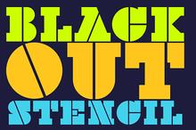 Black-Out Stencil
