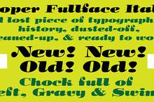 Cooper Fullface Italic