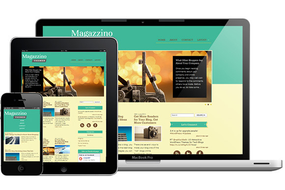 Magazzino ~ WordPress Themes  Free Download