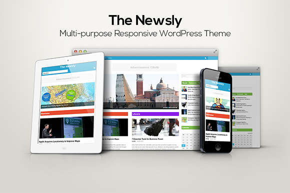 The Newsly – Multi-purpose Theme ~ WordPress Themes  Free Download