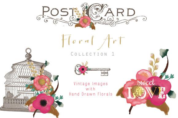 Floral Art 1 Vintage And Floral